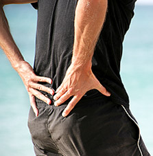Lower back pain symptoms