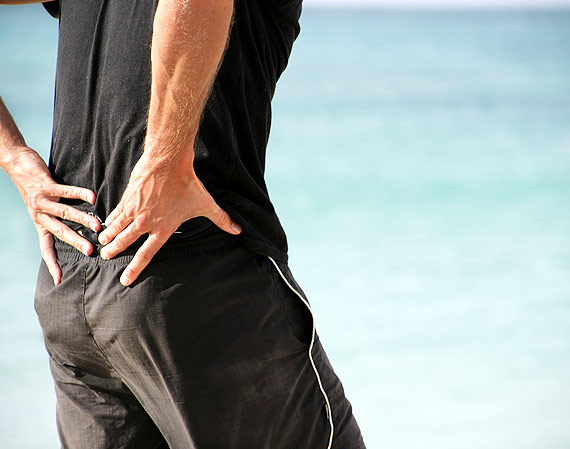 Experiencing lower back pain
