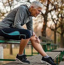 Sports injury symptom