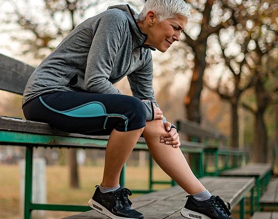 Women with Sports Injury needing an MRI scan