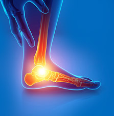 Foot MRI scan